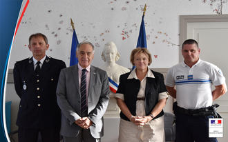 Signature de la convention Police Municipale / Police nationale